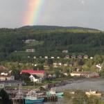 Rainbow over Alma